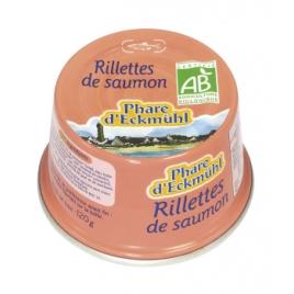 Phare d' Eckmuhl Rillettes de Saumon bio 120g Phare d' Eckmuhl Accueil Onaturel.fr