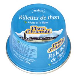 Phare d' Eckmuhl Rillettes de Thon 120g Phare d' Eckmuhl Accueil Onaturel.fr