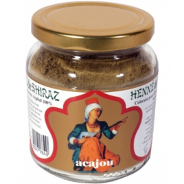 Henne De Shiraz Coloration végétale Acajou pot 150g