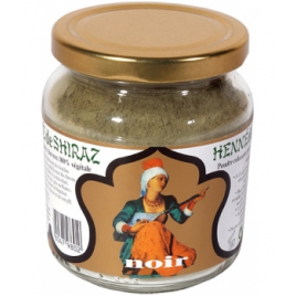 Henne De Shiraz Coloration végétale Noir pot 150g