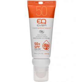 EQ Combi Stick Crème SPF 50 20ml EQ Protection solaire Bio Onaturel.fr