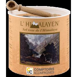 Comptoirs Et Compagnies Sel Rose de l'Himalaya boîte 250g Comptoirs Et Compagnies Sels bio Onaturel.fr
