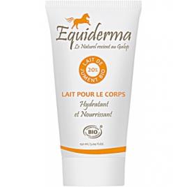 Equiderma Lait pour le corps au lait de jument 150ml Equiderma Laits corporels Bio Onaturel.fr