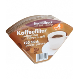 Droguerie Ecologique 120 filtres à café non blanchis n°4 Droguerie Ecologique Accueil Onaturel.fr