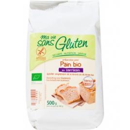 Ma Vie Sans Gluten Préparation pour pain au Sarrasin sans Gluten 500g Ma Vie Sans Gluten Alimentation Bio Onaturel.fr