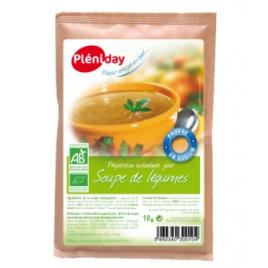 Pleniday Soupe instantanée de Légumes 18g Pleniday