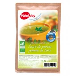 Pleniday Soupe instantanée de Poireaux et Pommes de Terre 18g Pleniday Accueil Onaturel.fr