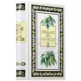 Plant Asia Thé Blanc Vanille boite Tome VI métal livre 24 sachets 48g Plant Asia