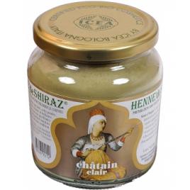 Henne De Shiraz Coloration végétale Châtain Clair pot 150g