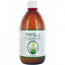 NaturAloe Pur Jus d'Aloé Vera 1L NaturAloe Categorie temp Onaturel.fr