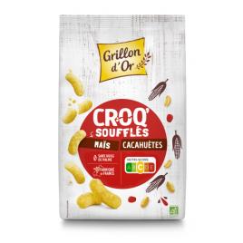 Grillon d'or Croq Cacahuète Apéréco 50g Grillon d'or Accueil Onaturel.fr