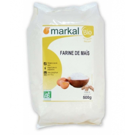 Markal Farine de Maïs 500g Markal Accueil Onaturel.fr