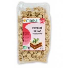 Markal Protéines de Soja (gros morceaux) 175g Markal Accueil Onaturel.fr