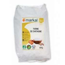 Markal Farine de Châtaigne 500g Markal Accueil Onaturel.fr