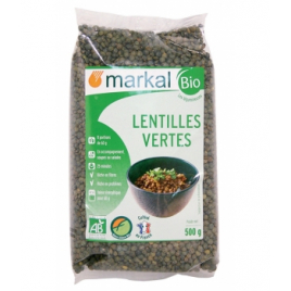 Markal Lentilles vertes 500g Markal Accueil Onaturel.fr