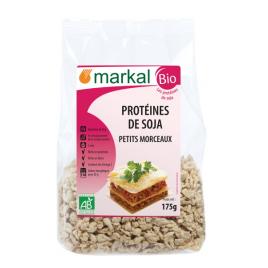 Markal Protéines de Soja (petits morceaux) 175g Markal Accueil Onaturel.fr