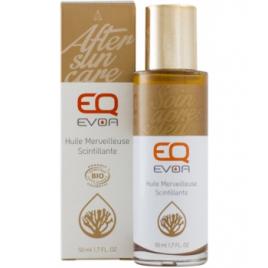 EQ Huile merveilleuse scintillante 50ml EQ Soins du corps Bio Onaturel.fr
