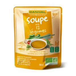 Danival Soupe Saveur 12 Légumes 50cl Danival Soupes Bio Onaturel.fr