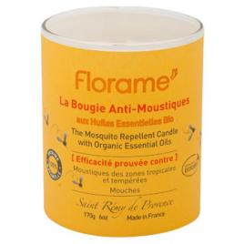 Florame Bougie anti moustiques et mouches 170g Florame Anti-mites / Anti-moustiques / Anti-insectes Onaturel.fr