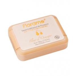 Florame Savon de Provence Fleur d'Oranger 100g Florame Savons Bio et Naturels Onaturel.fr