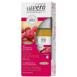 Lavera Huile Visage Cranberry Bio 30 ml Lavera Huiles végétales Bio Onaturel.fr