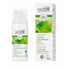 Lavera Fluide anti imperfections à la Menthe bio 50ml Lavera Accueil Onaturel.fr