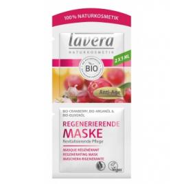 Lavera Masque anti rides Cranberry bio et Huile d'Argan bio 2x5ml Lavera Accueil Onaturel.fr