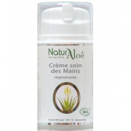 NaturAloe Crème régénérante à l'Aloé Vera pour les mains 50ml NaturAloe Categorie temp Onaturel.fr