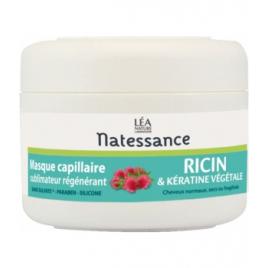 Natessance Masque Capillaire Ricin et Kératine végétale 200ml Natessance Accueil Onaturel.fr