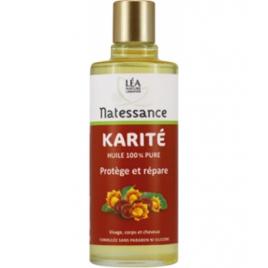 Natessance Huile de Karité 100ml Natessance Accueil Onaturel.fr