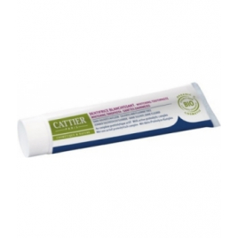 Cattier Dentifrice Blanchissant Eridène sans sulfates ni fluor Cattier Dentifrices bio Onaturel.fr