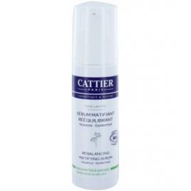 Cattier Sérum matifiant rééquilibrant Soie lactée 30 ml Cattier Soins du visage Bio Onaturel.fr