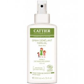 Cattier Spray démêlant familial aloé vera 200ml Cattier