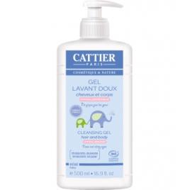 Cattier Gel lavant doux bébé 500ml