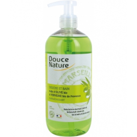 Douce Nature Douche et Bain verveine bio de Provence 500ml Douce Nature Gels douche - bains moussants Onaturel.fr