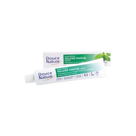 Douce Nature Dentifrice haleine fraîche à la menthe 75ml