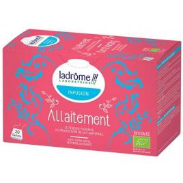 Ladrome Infusion pour faciliter l'allaitement 20 Sachets Ladrome Femme enceinte / Allaitement Onaturel.fr
