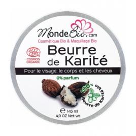 Le Monde du Bio Beurre de Karité 145ml Le Monde du Bio Accueil Onaturel.fr