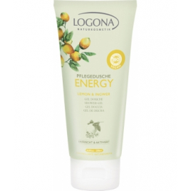 Logona Gel douche Energy Citron et Gimgembre 200ml