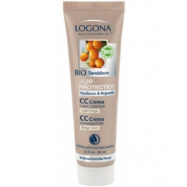 Logona Age Protection CC Cream Beige Clair 30ml Logona Accueil Onaturel.fr