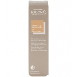 Logona Fond de Teint Natural Finish N° 05 Warm Beige 30 ml Logona Accueil Onaturel.fr