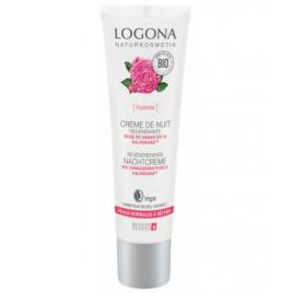 Logona Crème de nuit régénérante Rose de Damas bio / Kalpariane 30 ml Logona Accueil Onaturel.fr