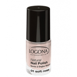 Logona Vernis à ongles naturel 01 soft rose 4ml