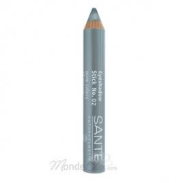 Sante Crayon bois fard à paupières n°02 Argent 3.2g