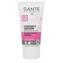 Sante Crème de jour hydratante beurre de karité et inca inchi 50ml Sante Accueil Onaturel.fr