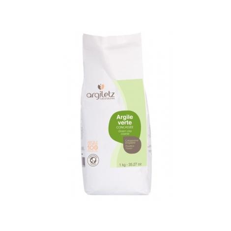 Argiletz Argile Verte Concassée 1kg Argiletz Bien-être articulaire Bio Onaturel.fr