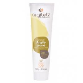 Argiletz Masque argile jaune prête à l'emploi 100gr Argiletz Soins à l'argile bio Onaturel.fr