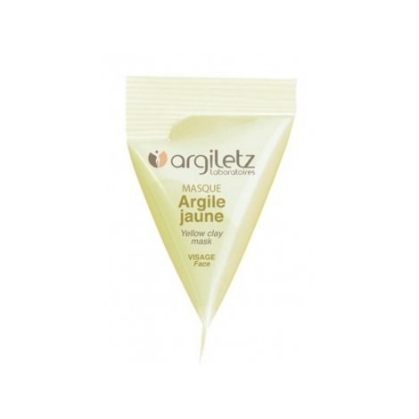 Argiletz Berlingot masque argile jaune 15ml Argiletz Soins à l'argile bio Onaturel.fr