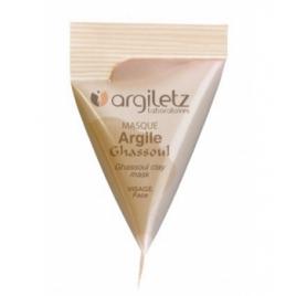 Argiletz Berlingot masque argile ghassoul 15ml Argiletz Soins à l'argile bio Onaturel.fr