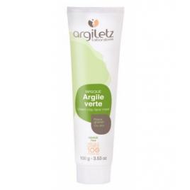 Argiletz Masque argile verte prête à l'emploi 100gr Argiletz Soins à l'argile bio Onaturel.fr